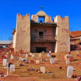 Historic landmark: Zuni Mission, New Mexico