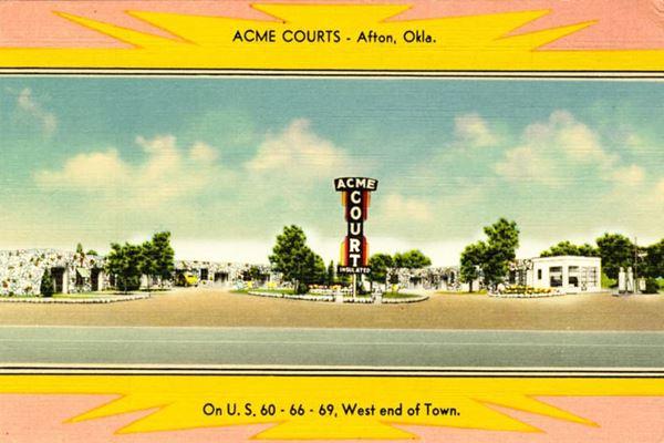 Acme Motel, Afton Oklahoma