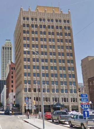 current appearance of the former Adams HotelTulsa Oklahoma Route 66