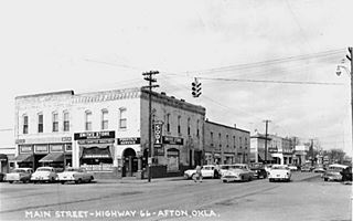 Afton in the 1950s