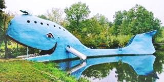 Big Blue Whale, Route 66, Catoosa, Oklahoma