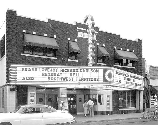 Circle Cinema vintage photo