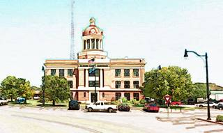 Beckham County Courthouse in Sayre, Oklahoma