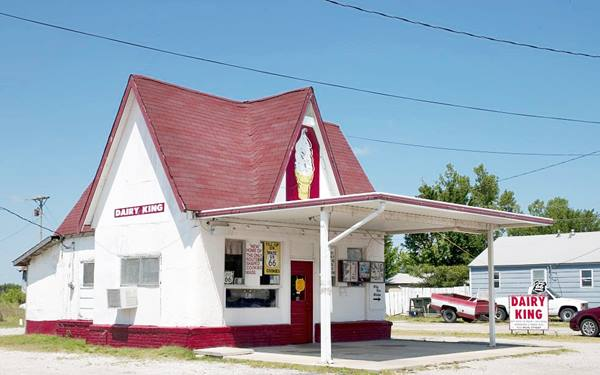 Dairy King Cafe, Commerce Oklahoma