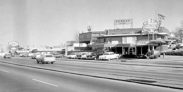 Donnay Building 1950s photo in Oklahoma City Route 66