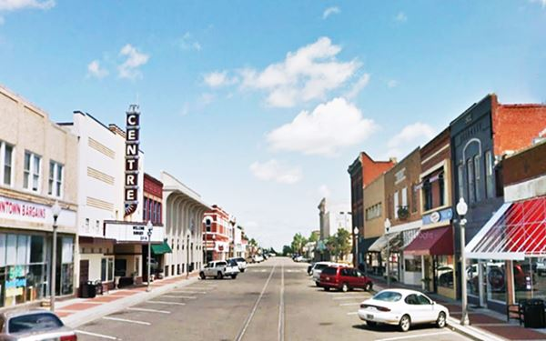 Downtown El Reno, Oklahoma