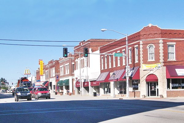 Downtown Vinita, Oklahoma