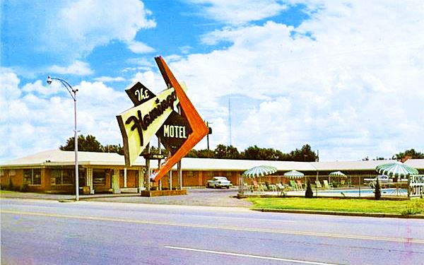 Flamingo Motel Elk City Oklahoma