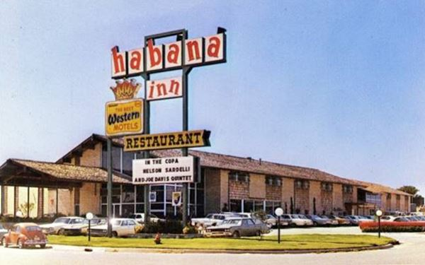 Habana Inn 1970s in Oklahoma City Route 66