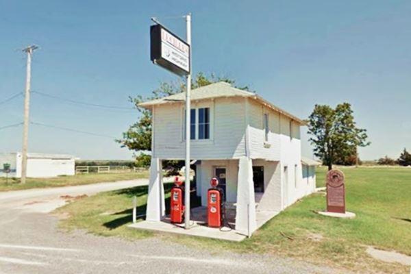 Provine Service Station, Route 66, Hydro Oklahoma