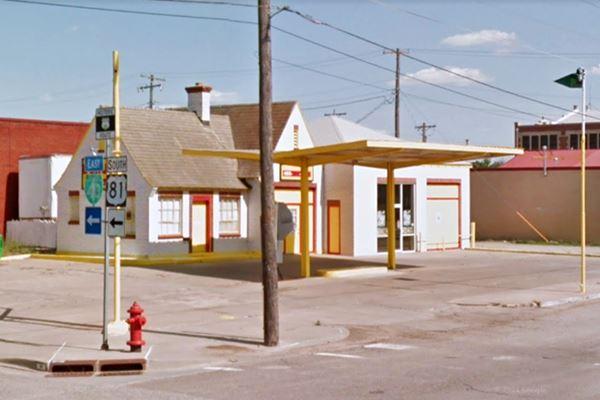 Jackson service station