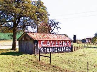 Meramec publicity on Barn near Chandler