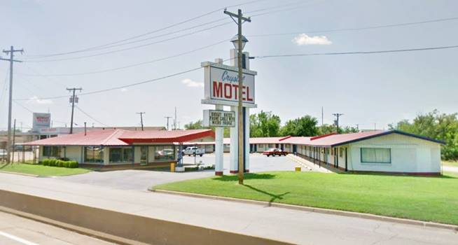 New Frontier Motel now the Crystal Motel Tulsa OK Route 66