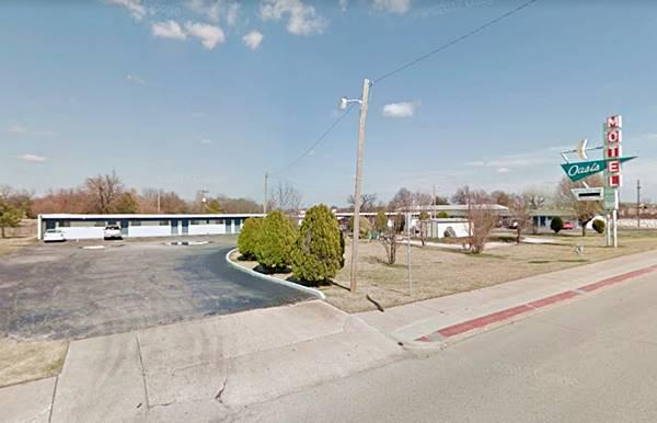 Oasis Motel nowadays Tulsa OK Route 66