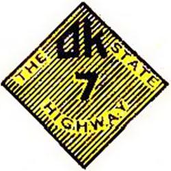 Oklahoma Highway 7 shield