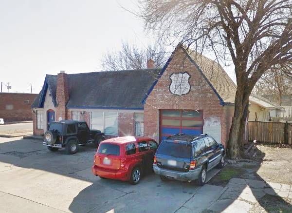 historic Phillips 66 Station #473 Tulsa OK Route 66