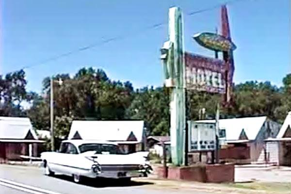 Rio Siesta Motel 1990s video, Clinton Oklahoma