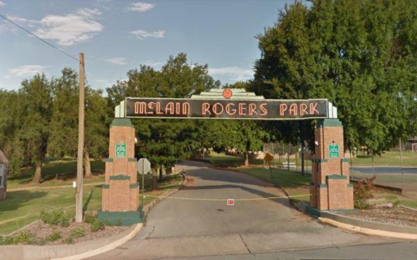Historic McLain Rogers Park, Clinton Oklahoma