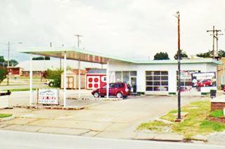 former filling station