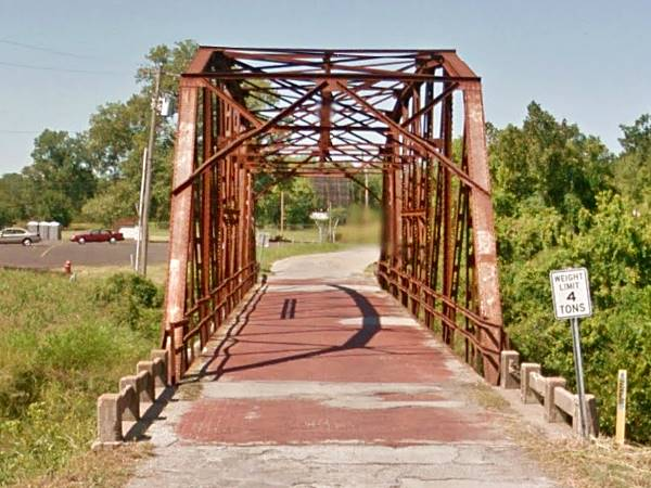 Route 66 bridge, Sapulpa