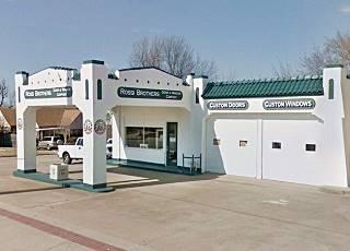 Historic Sinclair Service Station, Tulsa Oklahoma Route 66