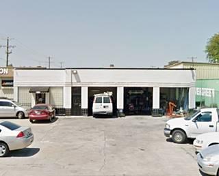 Art deco gas station in Tulsa Oklahoma Route 66