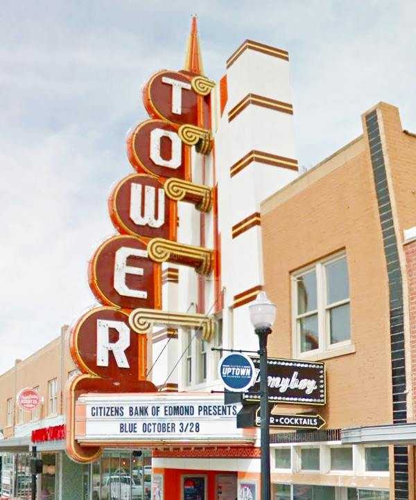 Tower Theater in Oklahoma City Route 66