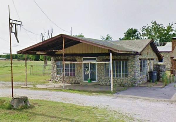 Stone faced Gas Station Tulsa OK Route 66