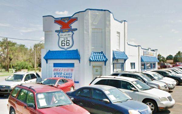 Y Service Station, Clinton Oklahoma