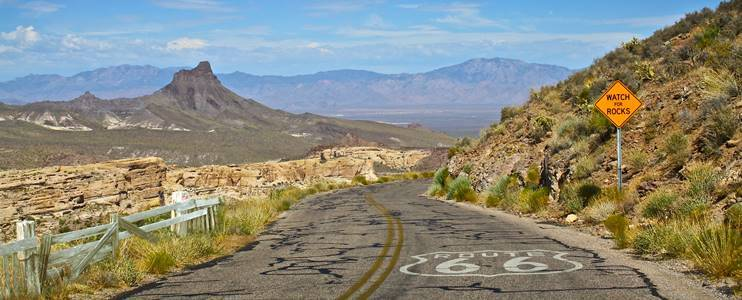 Route 66 Travel Guide – Travel Route 66 Map