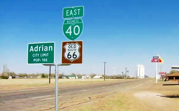 Adrian, Texas