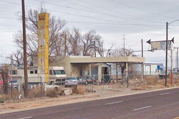 abandoned Amarillo Whiting Bros. Gas Station