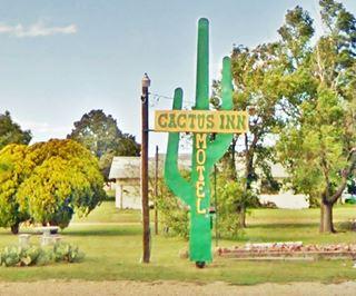 Cactus Inn Sign