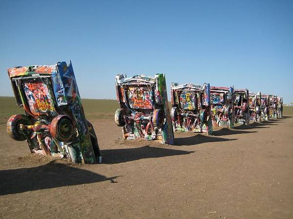 hot things cadillac ranch amarillo tx