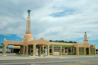 CONOCO Tower Station, Shamrock