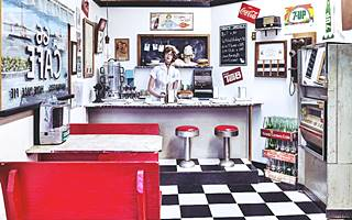 US 66 1950s Diner Recreation