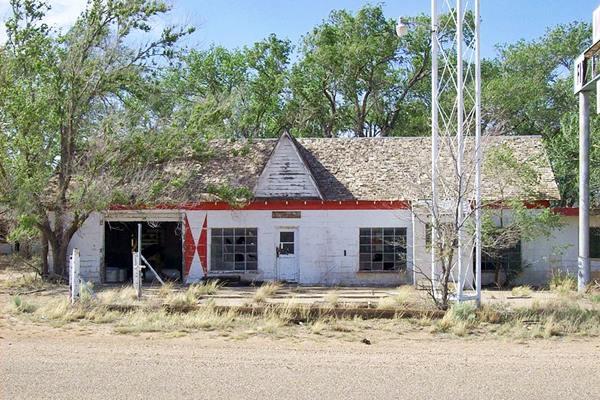 First - Last Motel, Glenrio, Texas