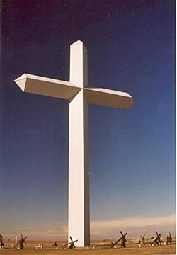 Gigantic Cross, Groom Route 66, TX