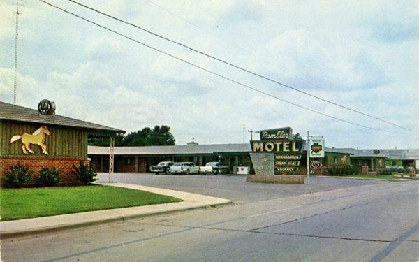 Rambler Motel in Shamrock