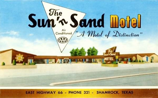 Sun 'n Sand Motel in Shamrock