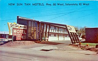 Texan Motel formerly Sun Tan Motel in Shamrock