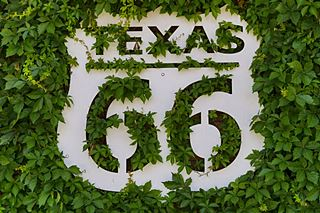 shield of Texas US 66